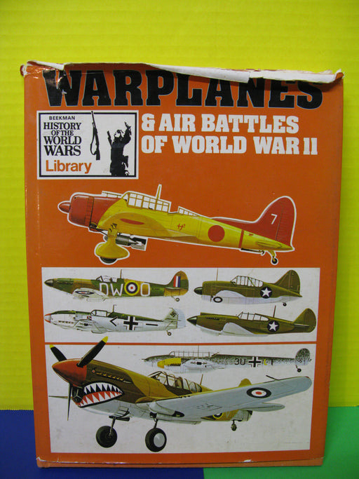 Warplanes and Air Battles of World War II Book