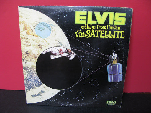 "Elvis Presley ""Aloha from Hawaii via Satellite"" 2 Vinyl Record Set"
