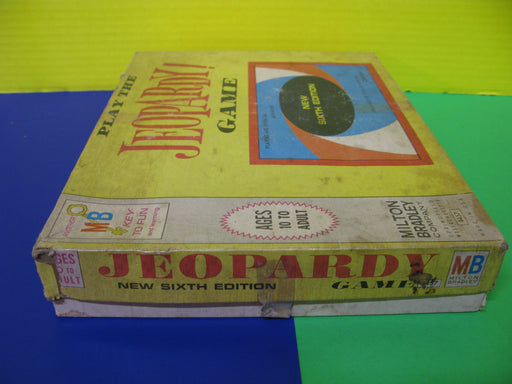 Vintage Jeopardy Game New Sixth Edition