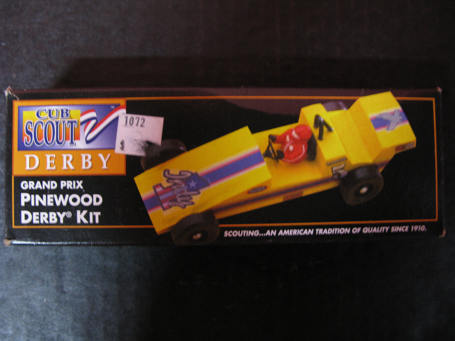 Grand Prix Pinewood Derby Kit