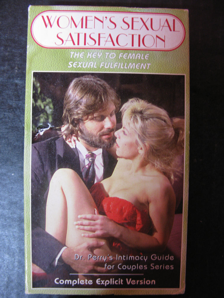 Women's Sexual Satisfaction-The Key to Female Sexual Fulfillment VHS
