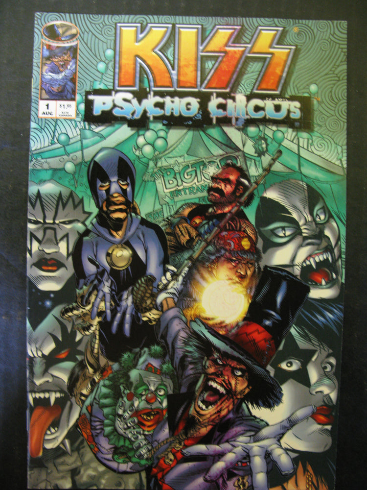 Five KISS Comics