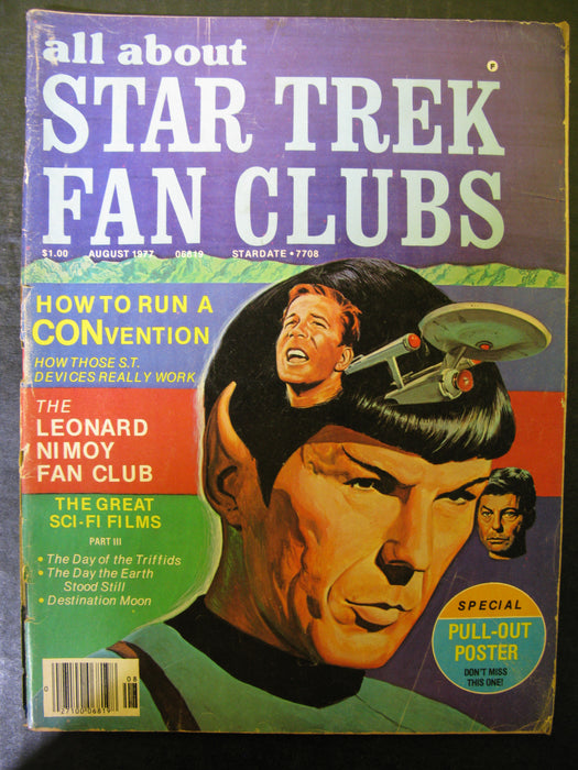 All About Star Trek Fan Clubs: Issue #4 August 1977, Stardate 7708