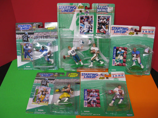 Starting Lineup Football Figures Collection