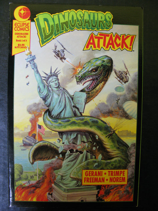 Dinosaurs Attack! The Graphic Novel Book One of Three