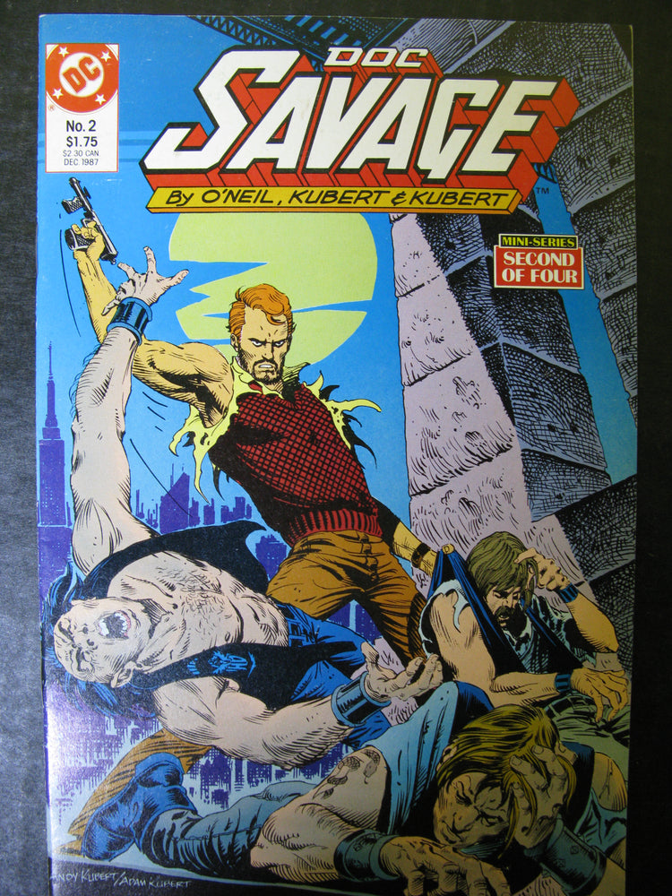 Doc Savage 2 No.2 December 1987 Mini Series Second of Four