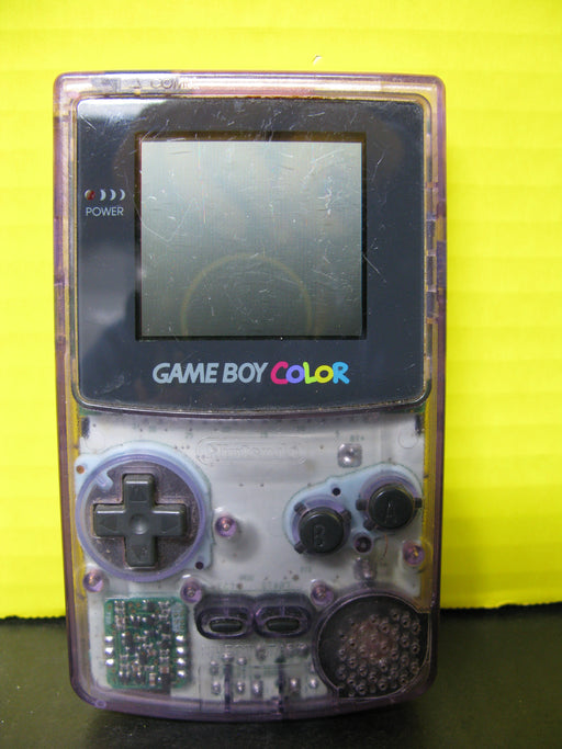 Nintendo Game Boy Color (Clear Purple Tint)