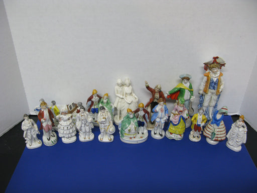 17 Occupied Japan Porcelain Figurines