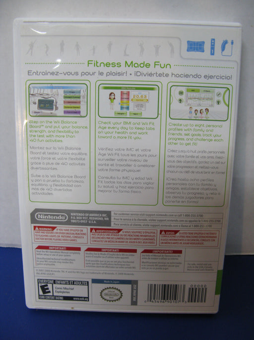 Wii Fit Game Disc