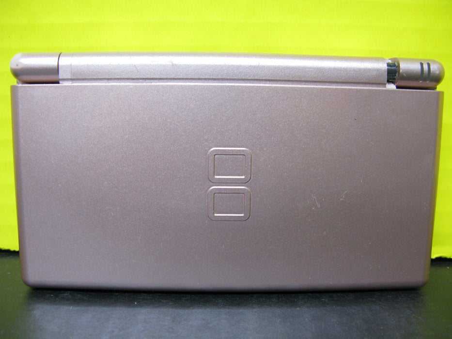 Nintendo DS Lite (Metallic Rose) with Charger and Case
