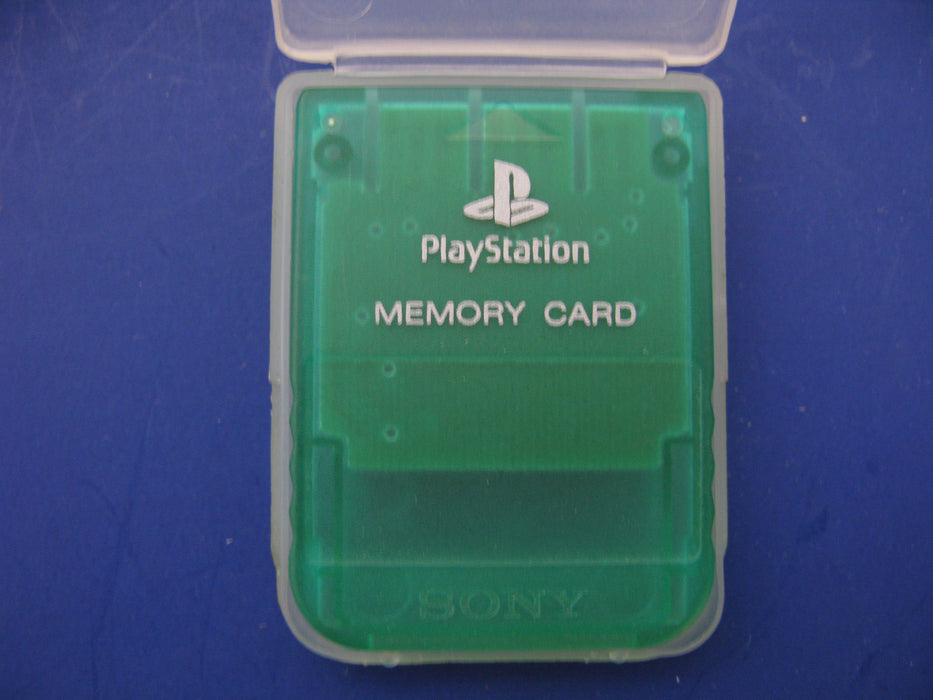 Case with 5 PlayStation Games and a Memory Card
