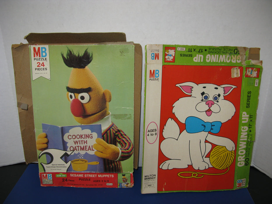 Kitten and Sesame Street Muppets Puzzles
