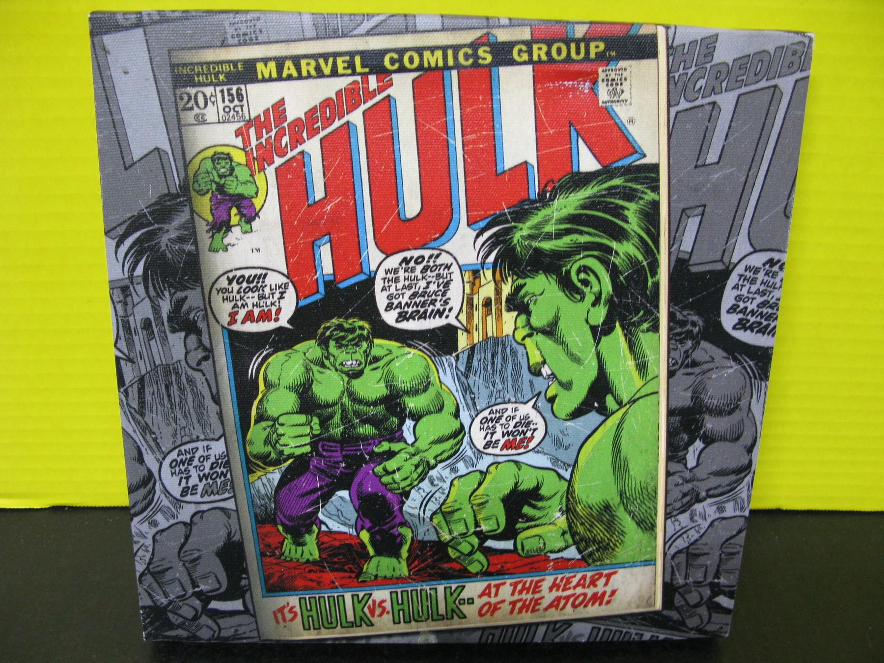 Marvel Comics Group : The Incredible Hulk Canvas