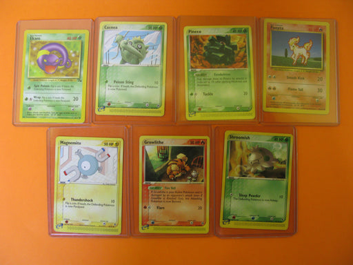 7 Pokemon Cards