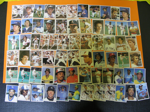 1981 Baseball Topps Stickers