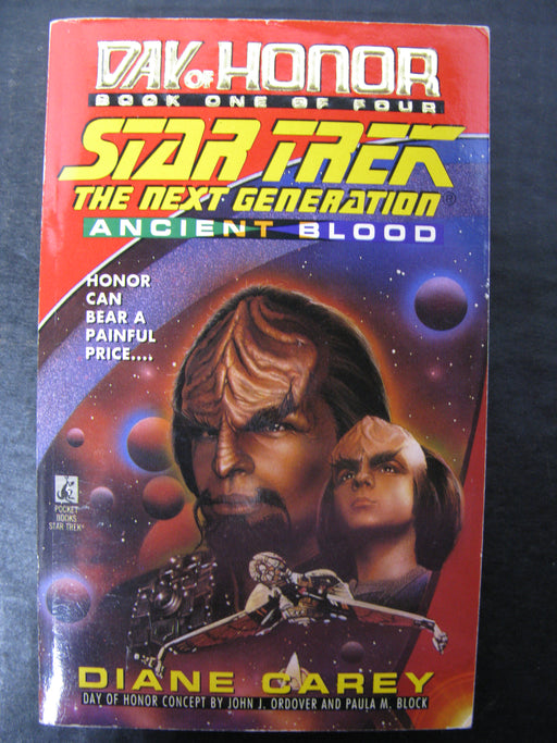 Day of Honor Book One of Four Star Trek The Next Generation - Ancient Blood
