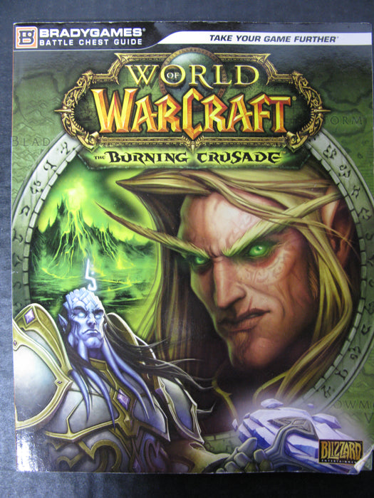BradyGames World of WarCraft: The Burning Crusade Battle Chest Guide Book