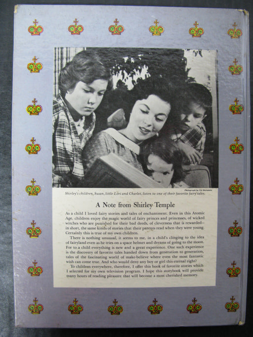 """Shirley Temple's Stories That Never Grow Old"" Book"