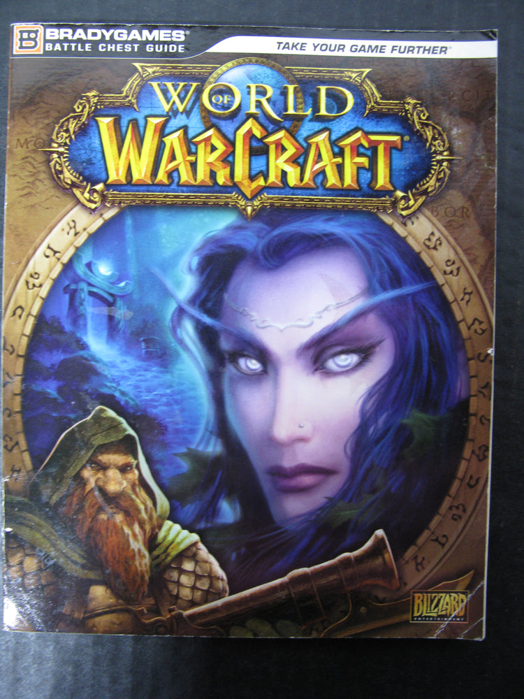 BradyGames World of WarCraft Battle Chest Guide Book