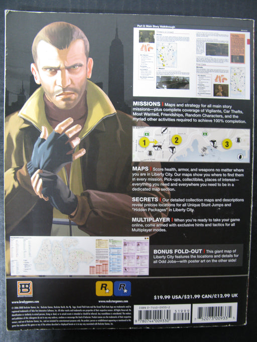 BradyGames Grand Theft Auto IV Signature Series Guide Book