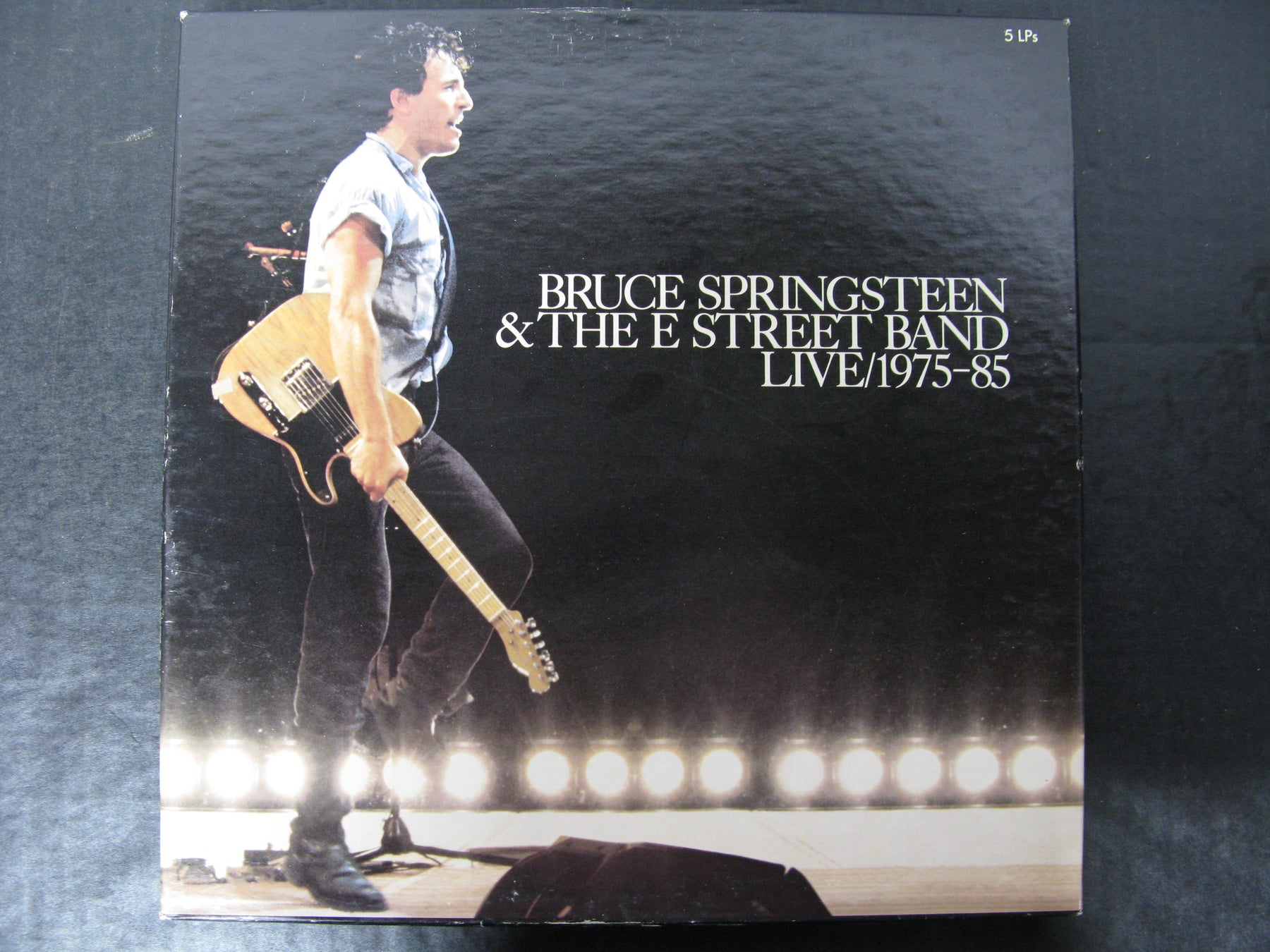 Bruce Springsteen & the E Street Band Live/1975-85 5 LPs Vinyl Records