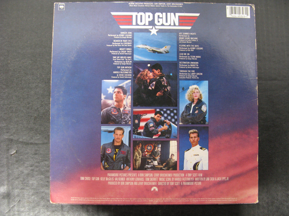 Top Gun Original Motion Picture Soundtrack Vinyl Record