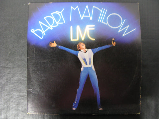 Barry Manilow Live Vinyl Record