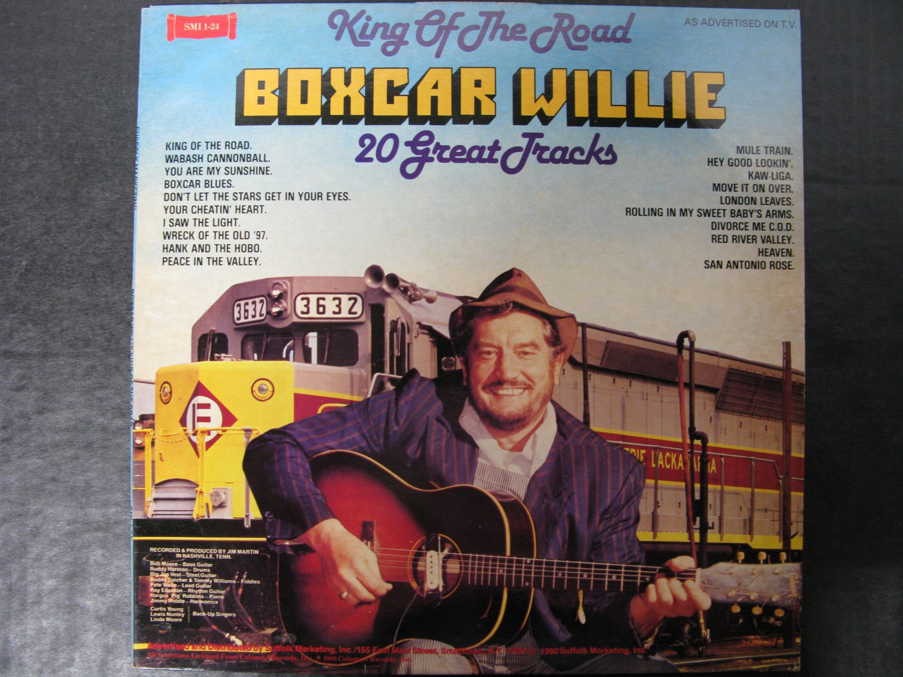 King of the Road Boxcar Willie 20 Great Tracks Vinyl Record