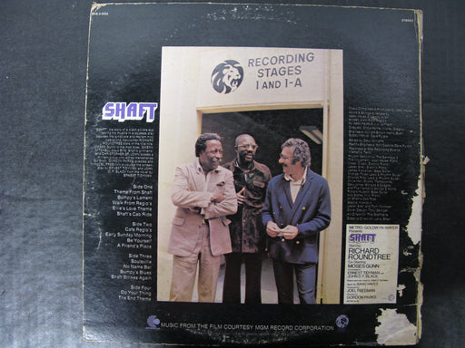 MGM's Shaft - Composed and Performed by Isaac Hayes Vinyl Record