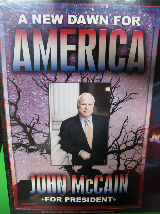 A New Dawn: John McCain 500 Piece Jigsaw Puzzle