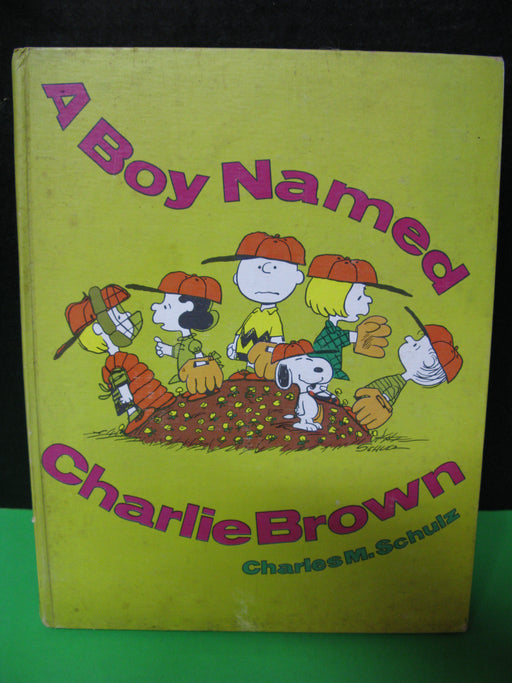 A Boy Named Charlie Brown Book