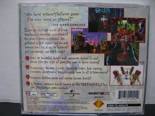 PlayStation Crash Bandicoot