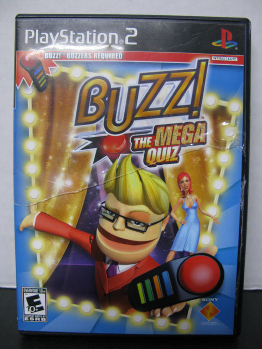 PlayStation 2 Buzz! The Mega Quiz