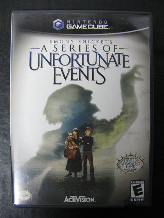 Nintendo GameCube Lemony Snicket's - A Series of Unfortunate Events