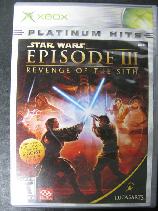 Xbox Star Wars Episode III - Revenge of the Sith