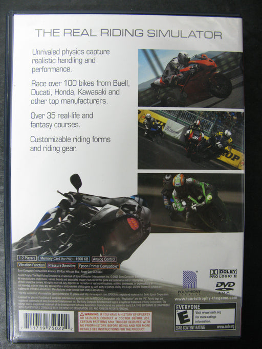 PlayStation 2 Tourist Trophy The Real Simulator