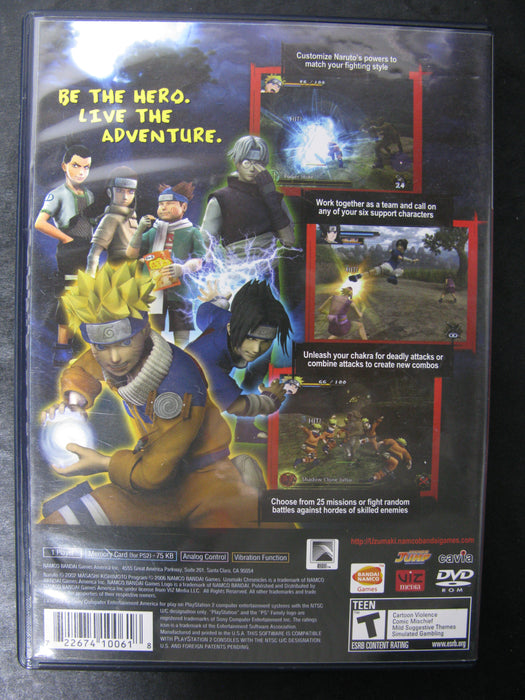 PlayStation 2 Naruto: Uzumaki Chronicles