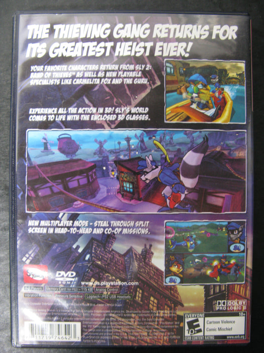 PlayStation 2 Sly 3 Honor Among Thieves