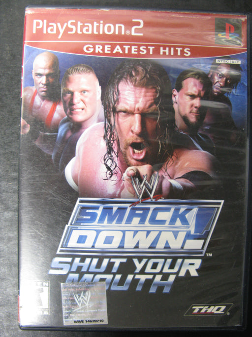 PlayStation 2 Smackdown! Shut Your Mouth