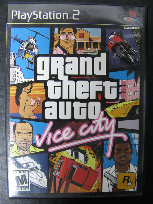 PlayStation 2 Grand Theft Auto Vice City