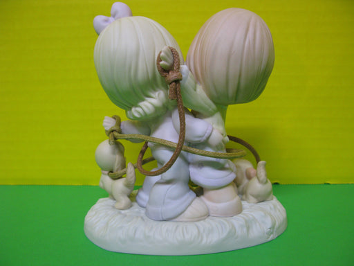 """Remember, We're In It Together"" Porcelain Figurine"