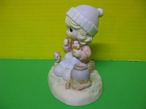 """Nature Provides Us With Such Sweet Pleasures"" Porcelain Figurine"