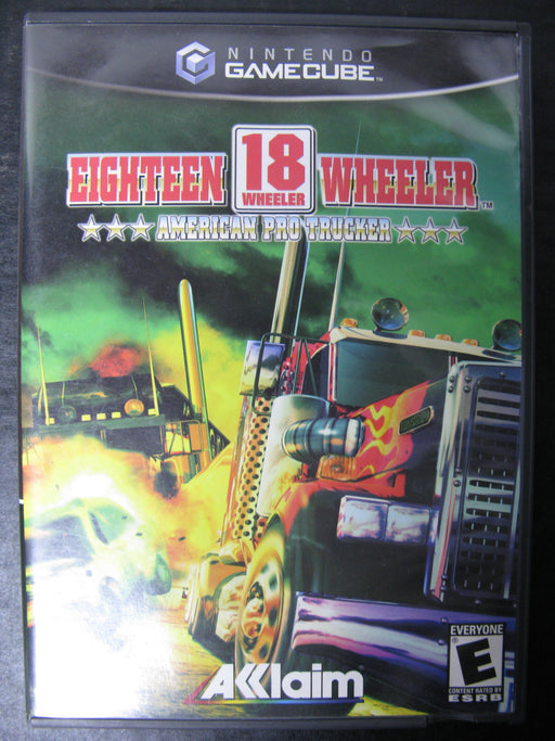 Nintendo GameCube Eighteen Wheeler American Pro Trucker