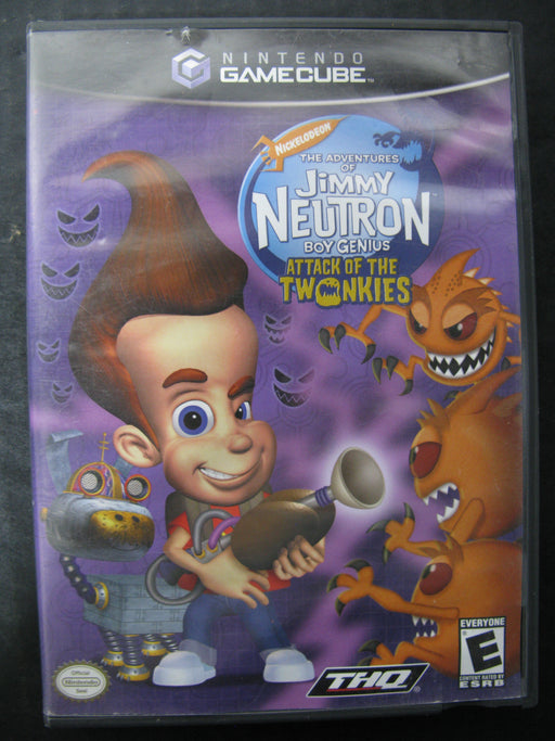 Nintendo GameCube Nickelodeon The Adventures of Jimmy Neutron Boy Genius - Attack of the Twonkies