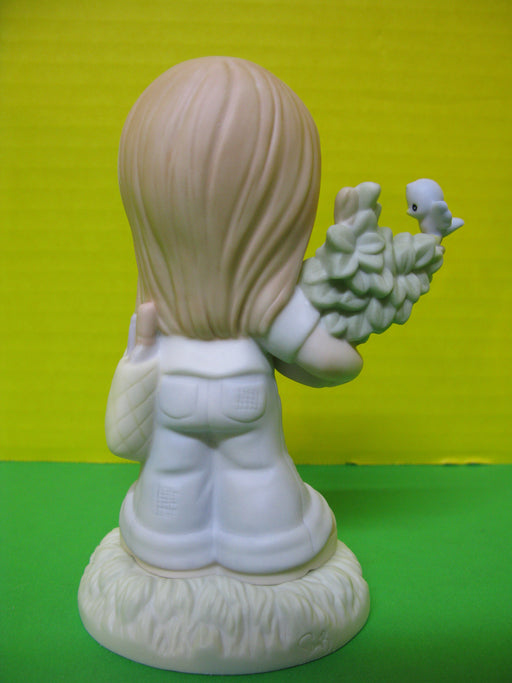 """From Small Beginnings Come Great Things"" Porcelain Figurine"