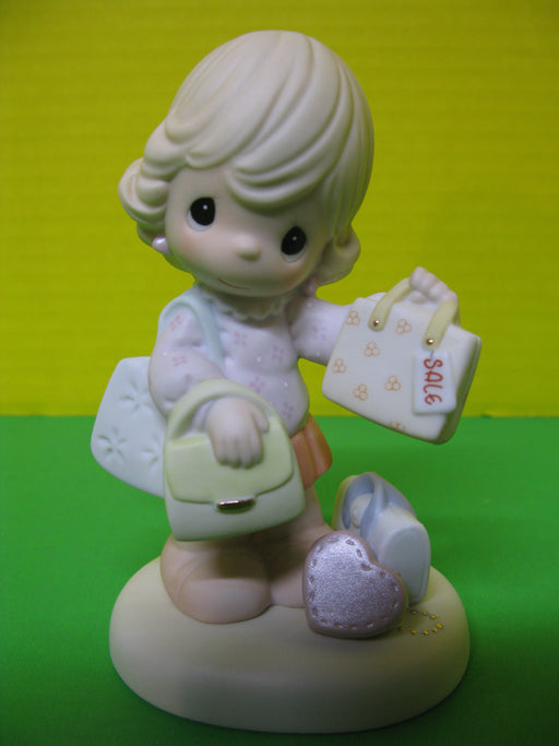 """Purse-suit Of Happiness"" Porcelain Figurine"