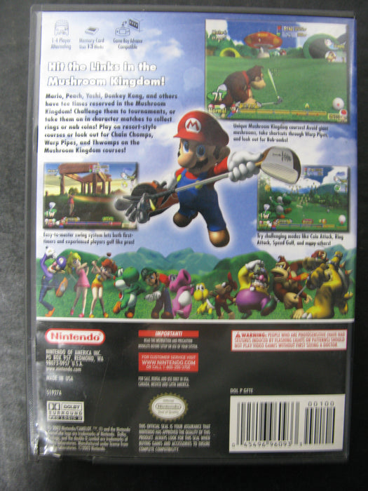 Nintendo GameCube Mario Golf Toadstool Tour