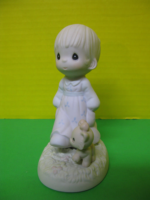 """Walk In The Sonshine"" Porcelain Figurine"