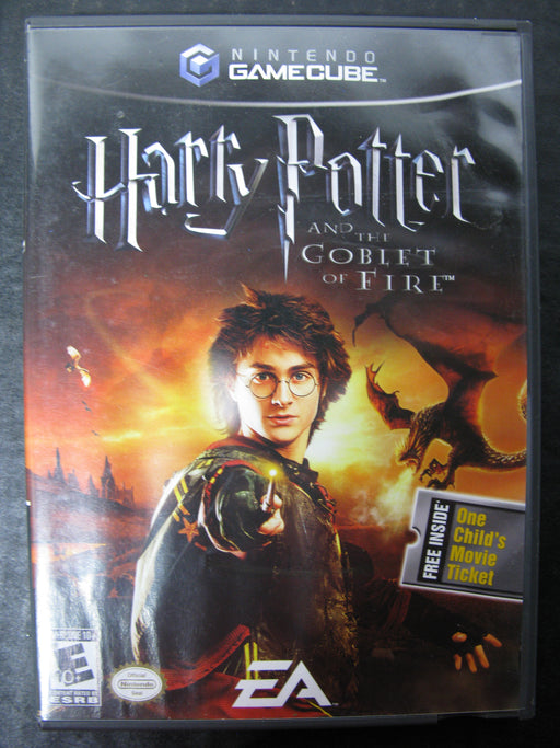 Nintendo GameCube Harry Potter and the Goblet of Fire