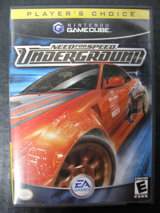 Nintendo GameCube Need for Speed - UnderGround